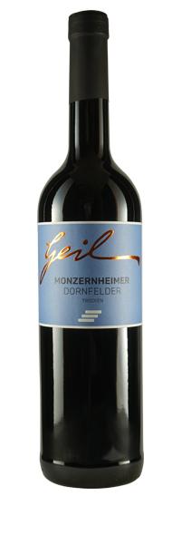 Weingut Geil 2018 Monzernheimer Steinböhl Dornfelder trocken Qualitätswein vom Weingut Geil