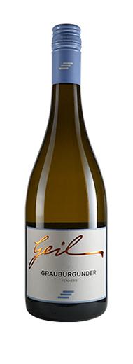Weingut Geil 2019 Grauer Burgunder feinherb Qualitätswein vom Weingut Helmut Geil