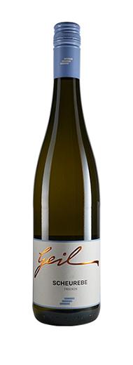 Weingut Geil 2019 Scheurebe trocken Qualitätswein vom Weingut Helmut Geil