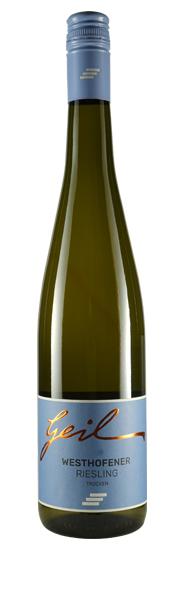 Weingut Geil 2019 Westhofener Kirchspiel Riesling trocken Qualitätswein vom Weingut Geil