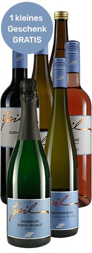 Virtuelle Live-Weinprobe inkl. Weinset