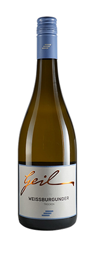Weingut Geil 2019 Weißer Burgunder trocken Qualitätswein vom Weingut Helmut Geil